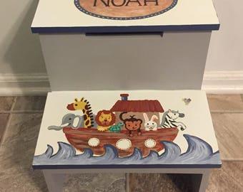 Noah's Ark Two Step Stool