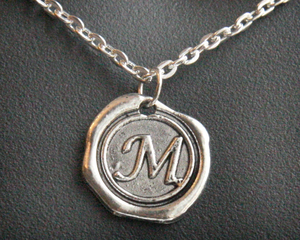 Personalized jewelry handmade jewelry initial necklace zoom aloadofball Images