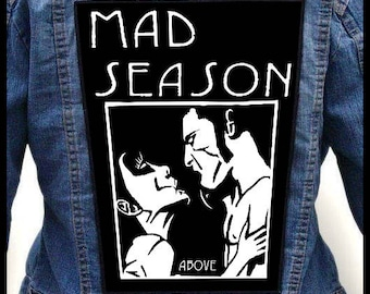MAD SEASON - Above --- Backpatch Back Patch / Chris Cornell Alice in Chains Pearl Jam Temple of the Dog Screaming Trees Mother Love Bone
