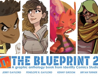 THE BLUEPRINT 2 Graphic Anthology Book from Identity Comics Studio