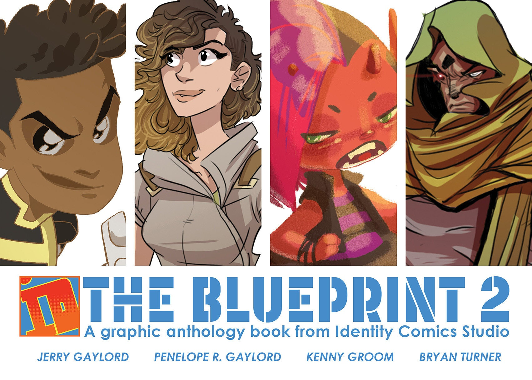 The blueprint 2 graphic anthology book from identity comics ampliar malvernweather Gallery