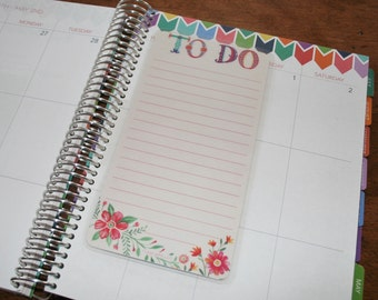 Dashboard (Size D), Coil Clip In, Laminated, Double Sided  / Erin Condren Life Planner, Limelife, Plum Paper (D02)