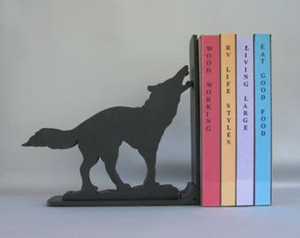 Standing Wolf Bookend