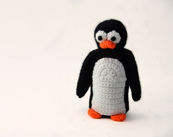 Cute Large Penguin Crochet Pattern, Penguin Amigurumi Pattern, Amigurumi Penguin Crochet Pattern, Animal Crochet Pattern, Animal Amigurumi