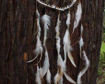 Selenite Crystal Dream Catcher
