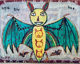 Roy G. Biv Bat