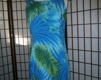 Women's Sleeveless Floral Dress