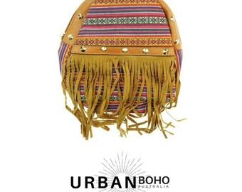 Festival Backpack with Fringe