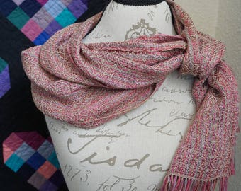 Vintage Inspired Silk and Tencel Scarf