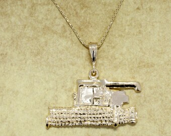 Combine, Combine Jewelry, Combine Necklace in 14kt yellow gold with chain.