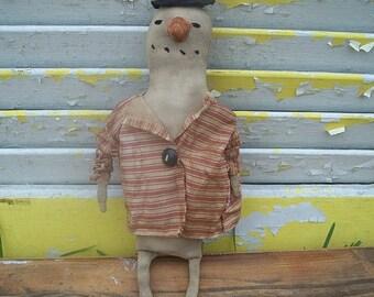 Spring Sale Primitive Flakeman Snowman