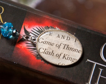 Game of Thrones Bookmark Game of Thrones Bookish Gift Bookmark