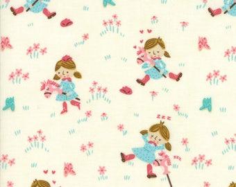 Howdy Porcelain A Gal's Best Friend Yardage SKU# 20551-11 by Stacy Iest Hsu for Moda Fabrics