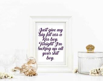 Beyonce lyrics etsy beyonce lyrics stopboris Choice Image