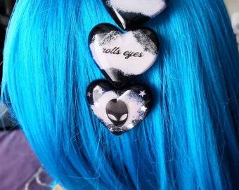 Galaxy hair clip
