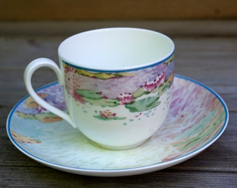 Villeroy and Boch Heinrich Germany Summer Dreams Cup and Saucer