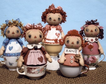 Sweet Annie Tea Cup Dolls