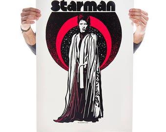 STARMAN- Limited Edition Screen Print Design By ROBIN GNISTA