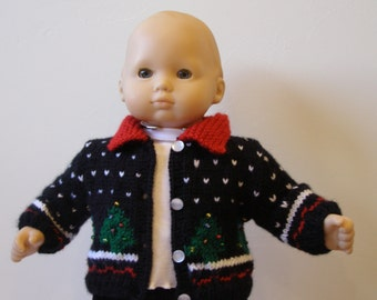 Bitty Baby Christmas Sweater