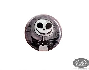 Mr. Unlucky Watercolor Pumpkin King Pin