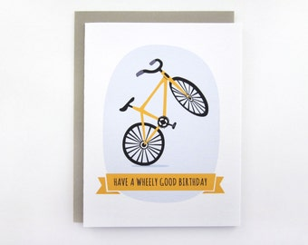 Have A Wheely Good Birthday