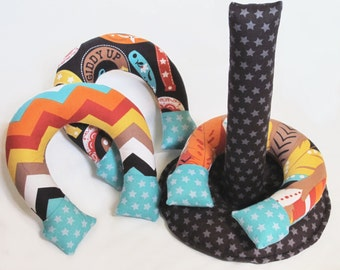 Indoor Horseshoes, instant download digital sewing pattern