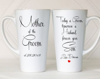 Gift from groom to mother, Gift from groom to father, Mother of the groom gift, Father of the groom gift, Parents of the groom gift