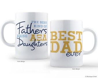 AXiD Alpha Xi Delta Best Dad Mug Sorority Father Mug