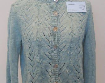 Woman's cardigan cotton and cashmere