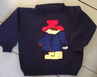 Vintage Handmade Paddington Sweater