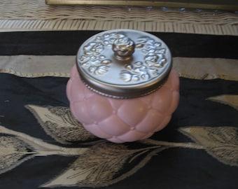 Vintage AVON Pink Trinket Ceramic 1980's in excellent condition