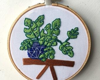 """Embroidery Hoop Art """"Sammi"""""""