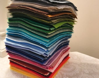Kona Color Card Quilt Kit - Make One of Three Versions