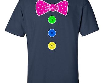 Clown Costume Fancy Dress Mens T Shirt