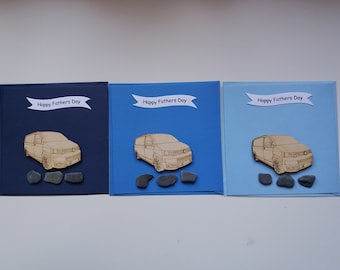 T5.1 Panel Van  - Handmade Father's Day Card (1 Card)