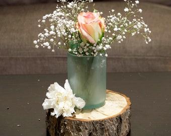 Wine Bottle Planter/Vase/Tea Light Holder