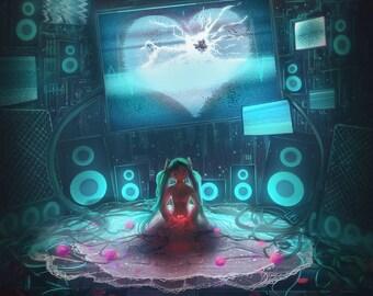 Digital Heart - Miku (Vocaloid)
