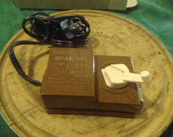 Bachmann Hobby Transformer Model No. 6607 brown
