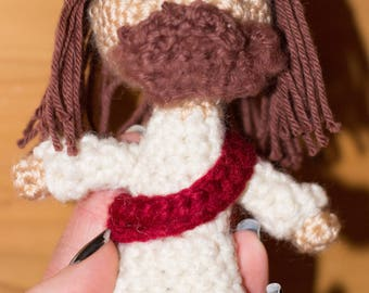 Little Jesus Christ Crochet Doll Amigurumi