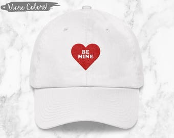 Be Mine Valentine's Day Dad Hat (+ More Colors)