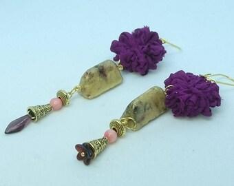 """""""Tears of gold Oriental Garden"""" earrings"""