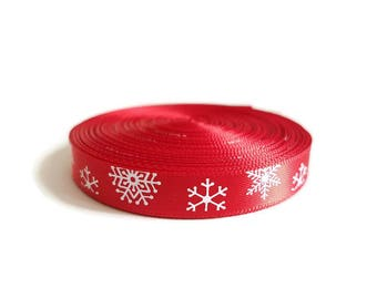 Christmas decoration Red Ribbon