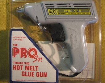 Ridlen Pro Sr. hot glue gun 40W new in package,380 degree, standing,made in USA