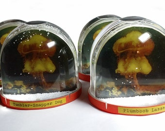 Atomic Bomb Nuclear Snowglobe - Limited Edition