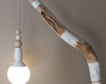 Decorated light floor lamp