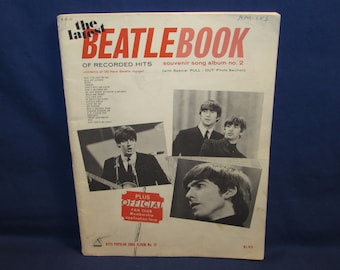 The Latest Beatle Book BEATLES SOUVENIR SONGBOOK 1964