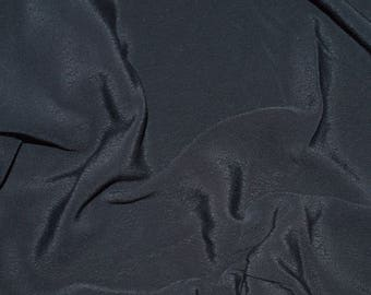 Black crepe fabric shiny (in multiples of 20cm)