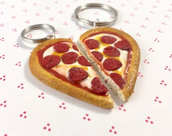 Pizza BFF Charms