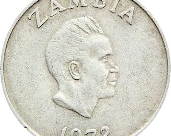 1972 10 Ngwee Zambia Coin