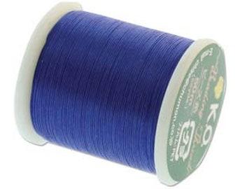 KO Thread Clear Blue #KO021 55 yards per spool